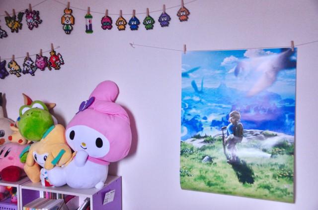 】ゼルダの伝説 ブレス オブ ザ ワイルド B2ポスター