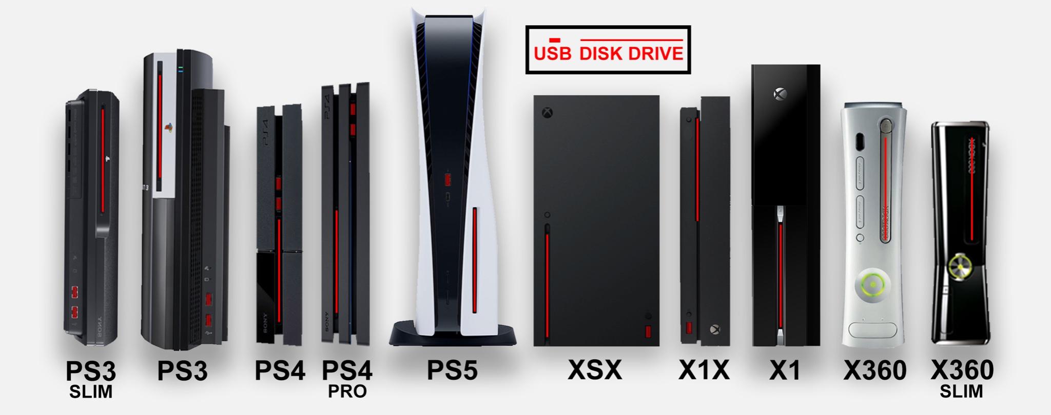 PS5大きさ比較画像