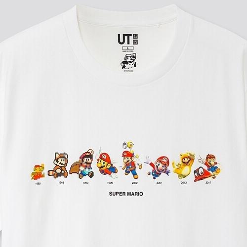 ユニクロにスーパーマリオのTシャツ登場