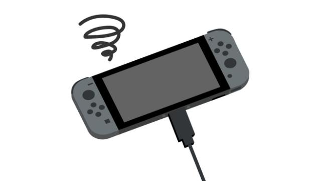 携帯ゲーム機半年に一度は充電を