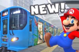 【USJ】「スーパー・ニンテンドー・ワールド」ラッピング電車