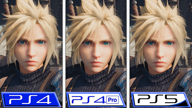 FF7リメイク PS5 PS4比較